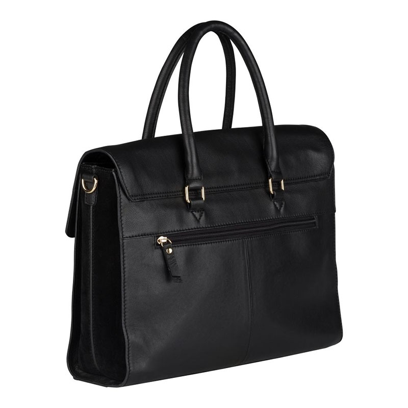 """Burkely Secret Sage Workbag 14"""" Black-180292"""