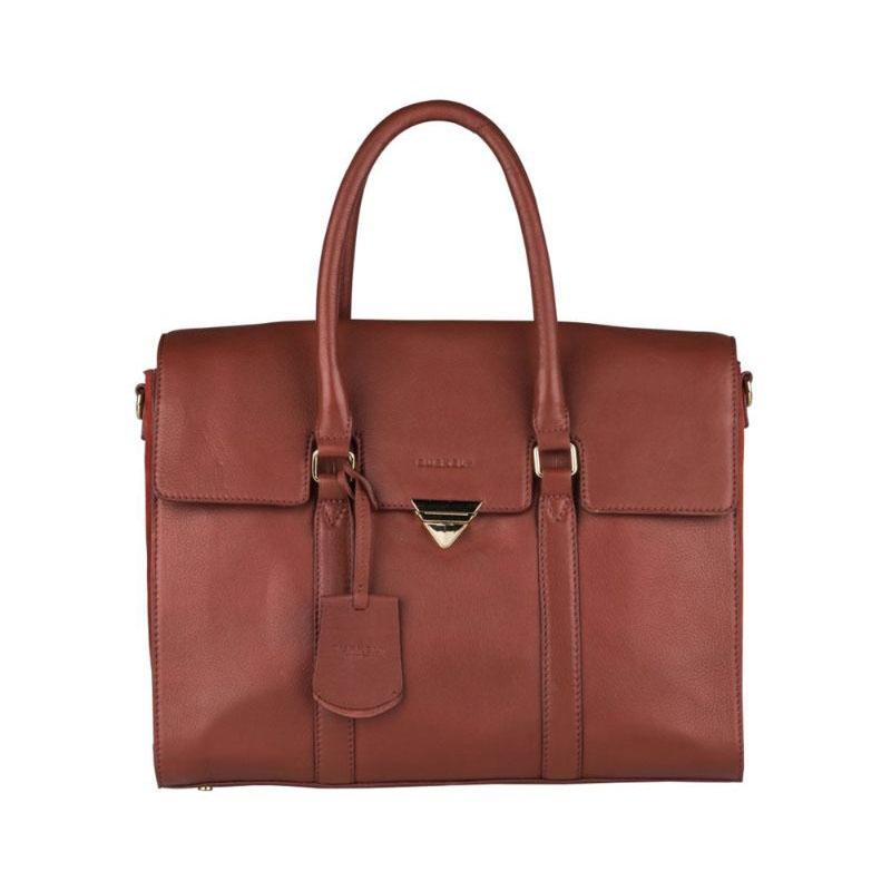 """Burkely Secret Sage Workbag 14"""" Brown-0"""