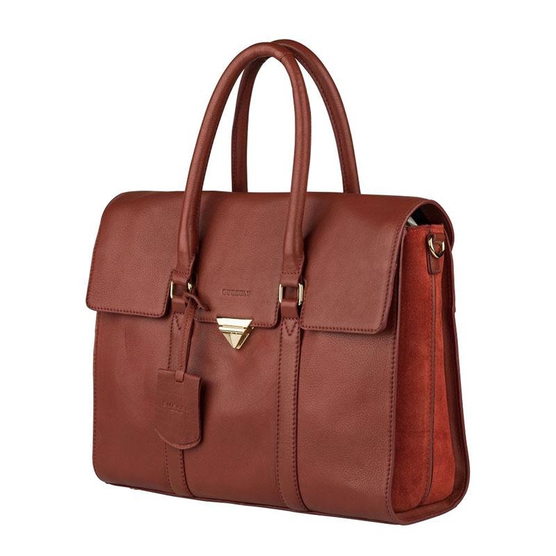 """Burkely Secret Sage Workbag 14"""" Brown-180295"""