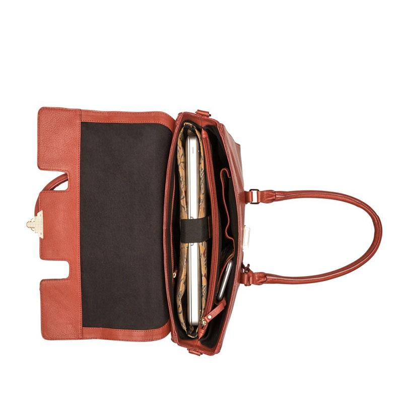 """Burkely Secret Sage Workbag 14"""" Brown-180296"""
