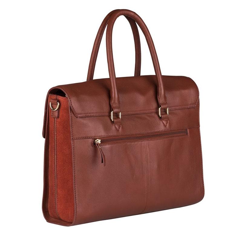 """Burkely Secret Sage Workbag 14"""" Brown-180297"""