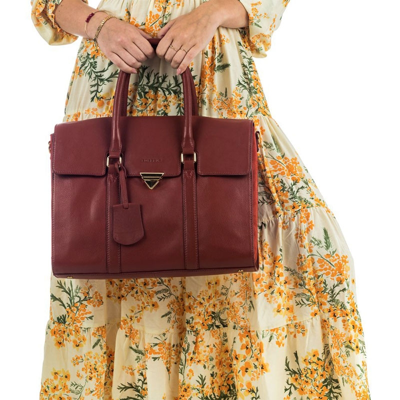 """Burkely Secret Sage Workbag 14"""" Brown-180298"""