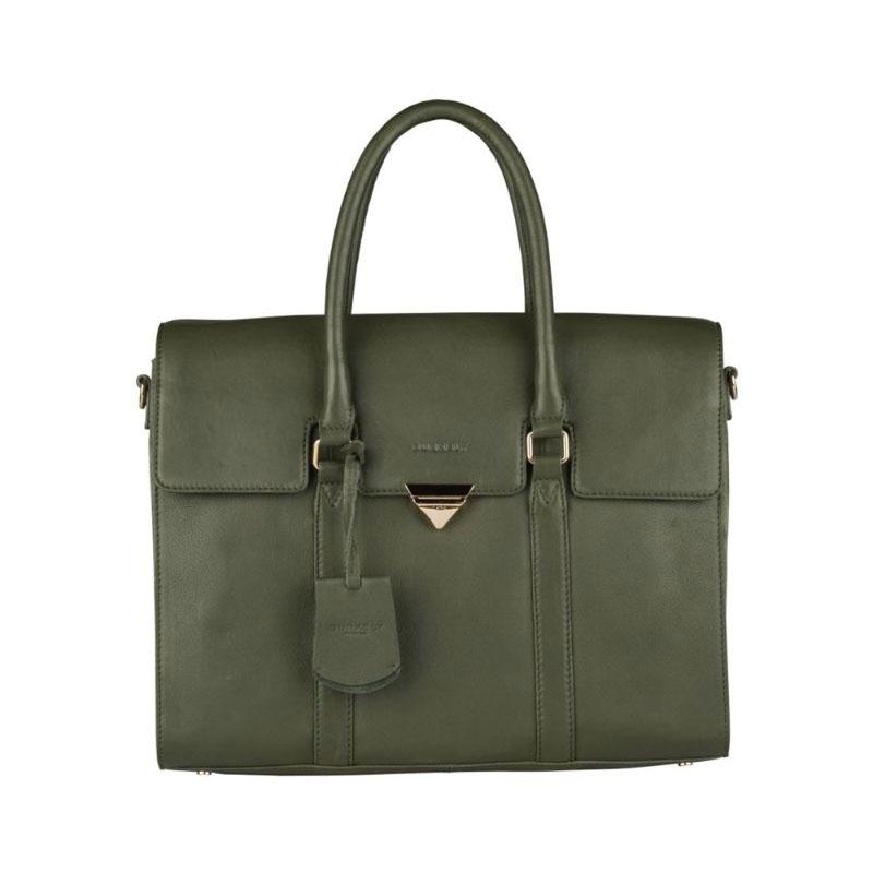 """Burkely Secret Sage Workbag 14"""" Dark Green-0"""