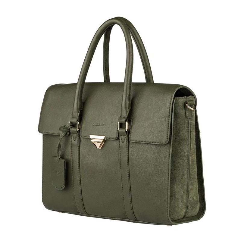 """Burkely Secret Sage Workbag 14"""" Dark Green-180300"""