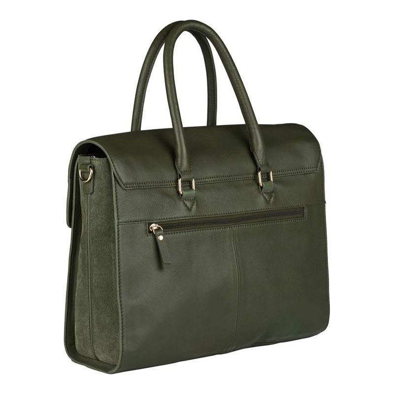 """Burkely Secret Sage Workbag 14"""" Dark Green-180302"""