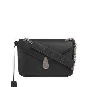 Calvin Klein Lock Conv Crossbody Black