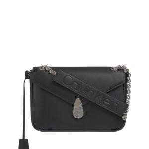 Calvin Klein Lock Conv Crossbody Black-0