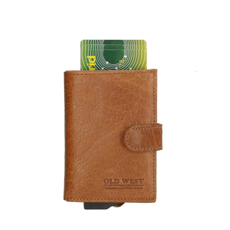 Micmacbags Old West CC-Holder Cognac-0