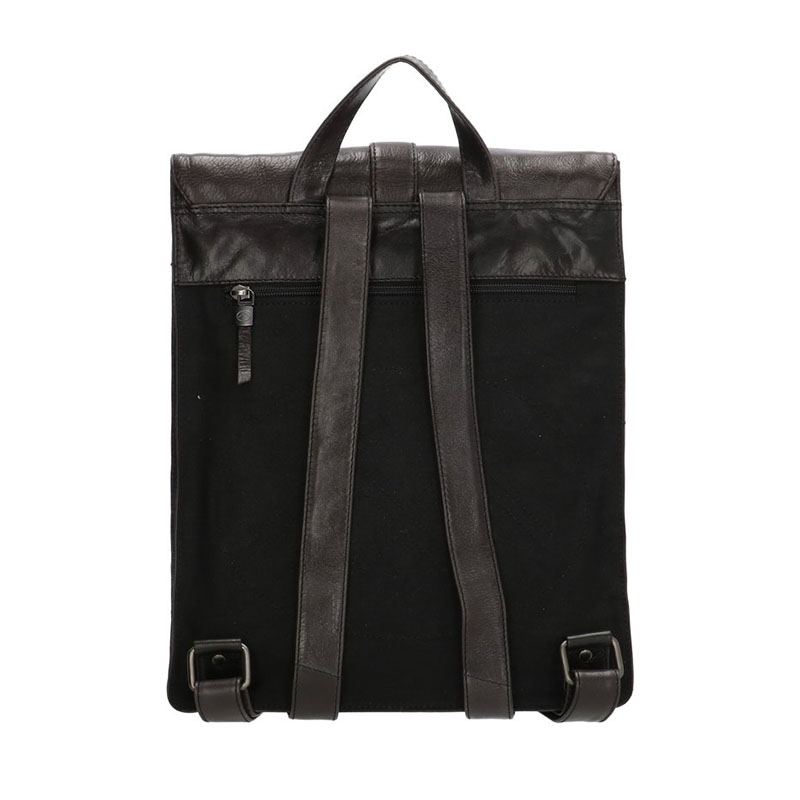 Micmacbags Porto Backpack Black-180728