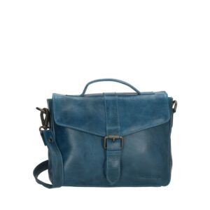 Micmacbags Porto Buckle Shoulderbag Jeans Blue-0