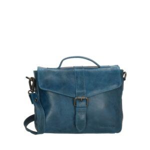 Micmacbags Porto Buckle Shoulderbag Jeans Blue