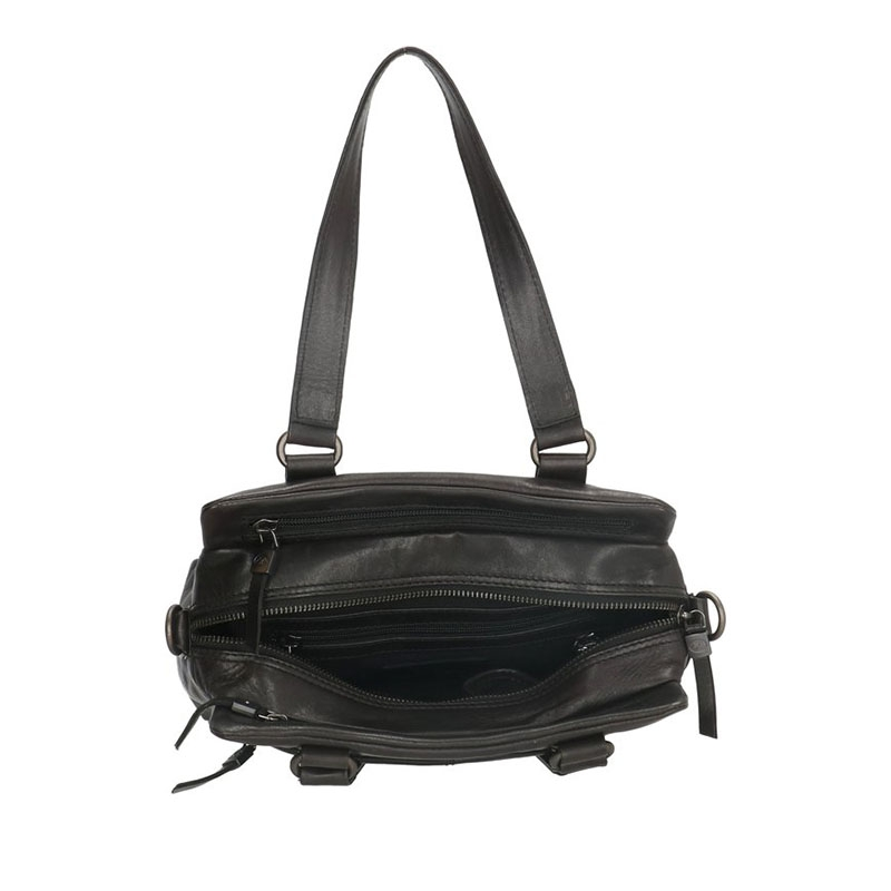Micmacbags Porto Hand/Shoulderbag Black-180671