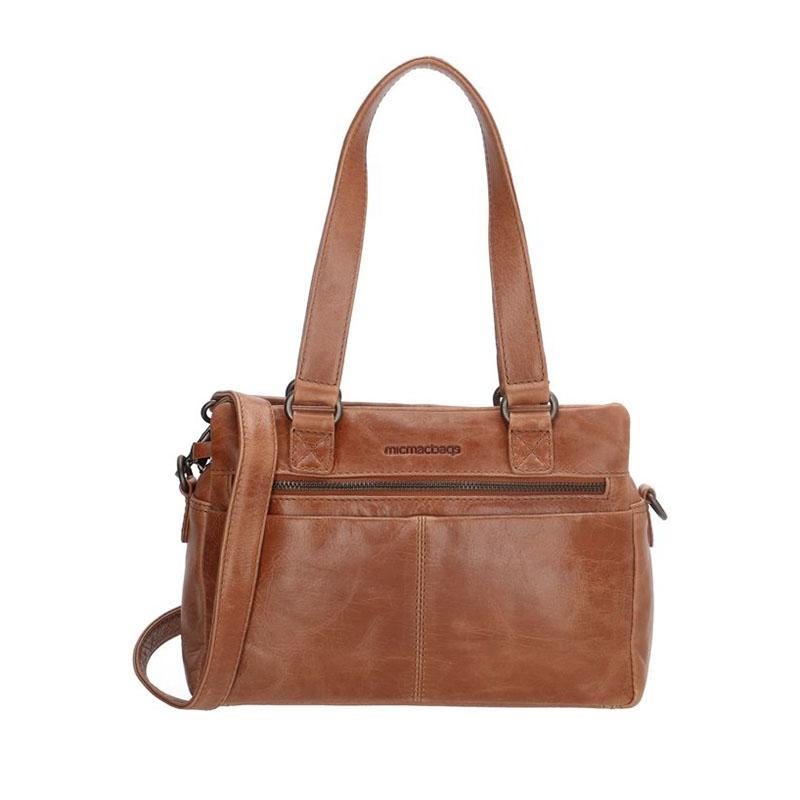 Micmacbags Porto Hand/Shoulderbag Brown-0