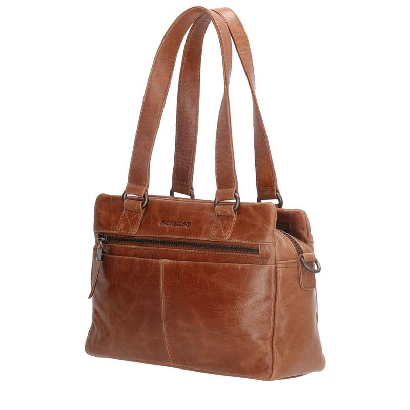 Micmacbags Porto Hand/Shoulderbag Brown-180675