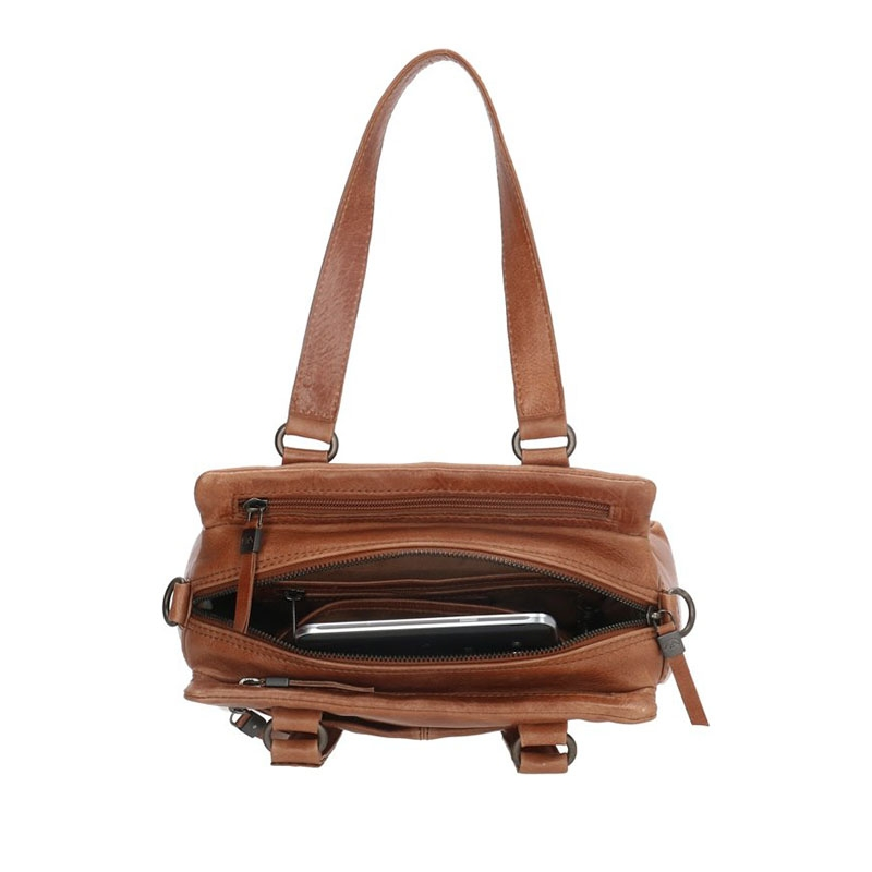 Micmacbags Porto Hand/Shoulderbag Brown-180676