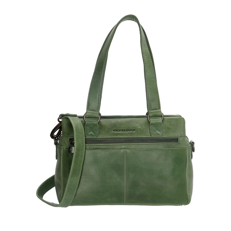 Micmacbags Porto Hand/Shoulderbag Green-0