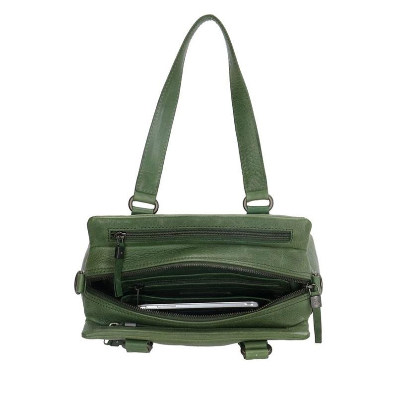 Micmacbags Porto Hand/Shoulderbag Green-180686