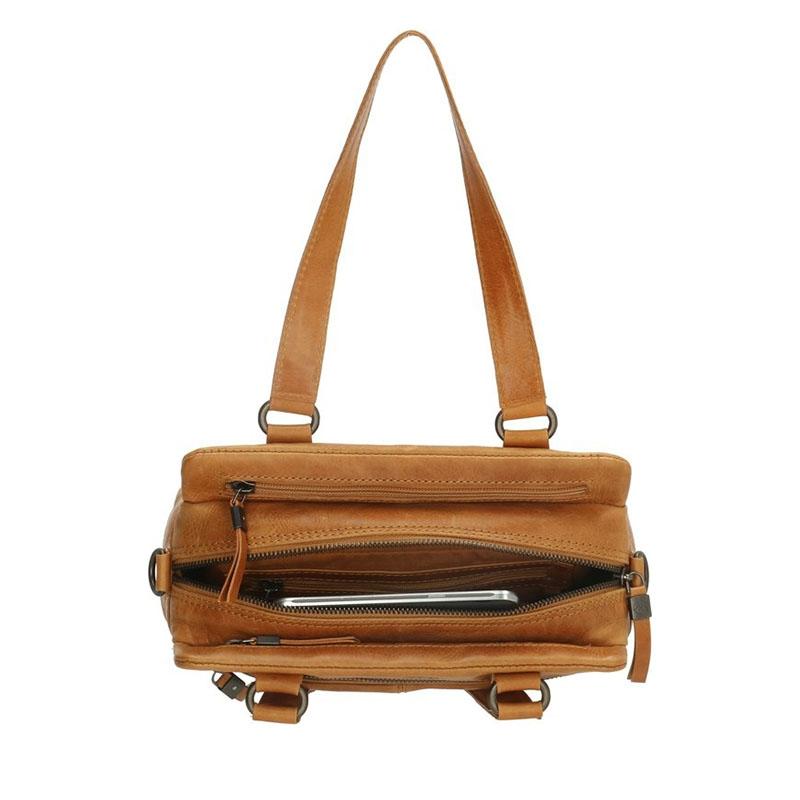 Micmacbags Porto Hand/Shoulderbag Oker-180691