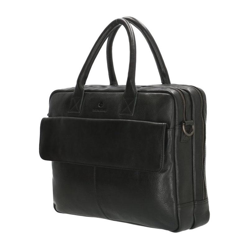 Micmacbags Porto Laptopbag Black-180092