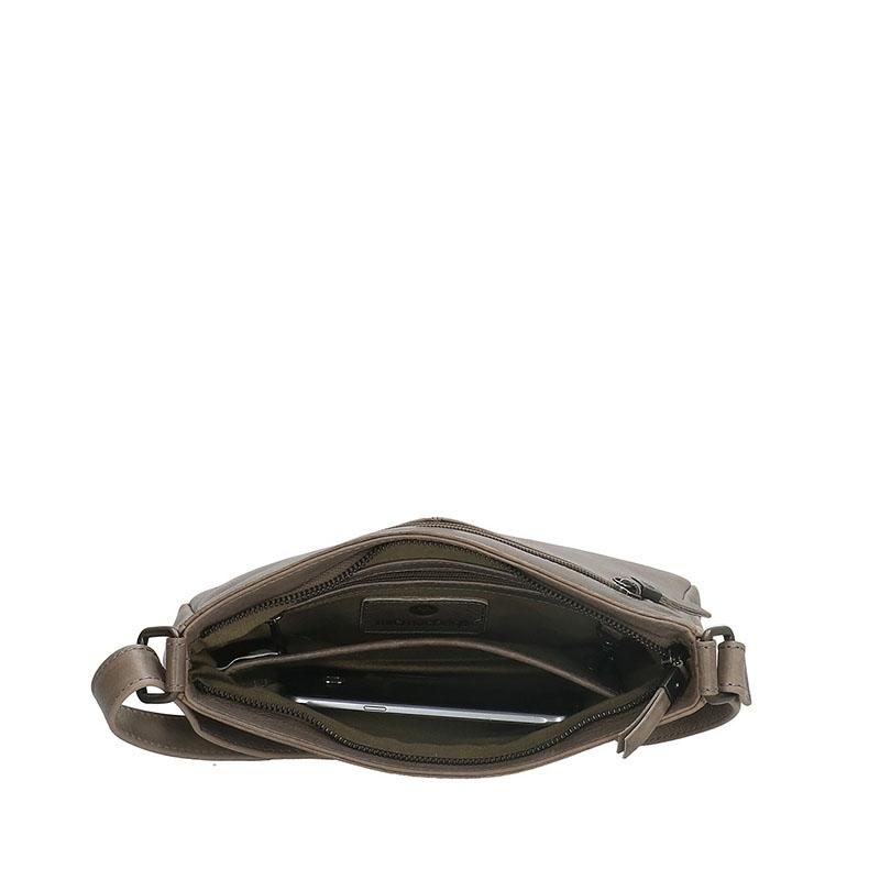 Micmacbags Porto Shoulderbag Grey-180653