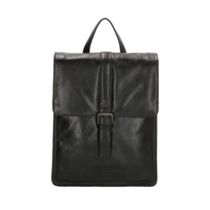 Micmacbags Porto Small Backpack Black-0