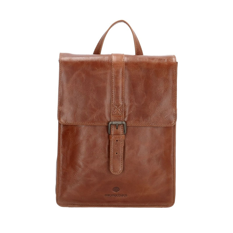 Micmacbags Porto Small Backpack Brown-0