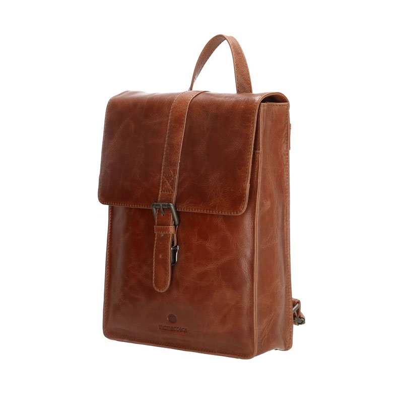 Micmacbags Porto Small Backpack Brown-180746