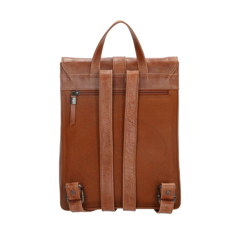 Micmacbags Porto Small Backpack Brown-180748