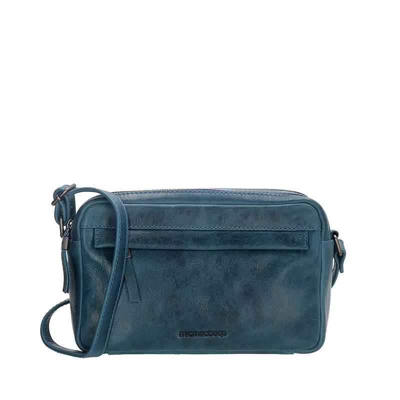 Micmacbags Porto Small Shoulderbag Jeans Blue-0