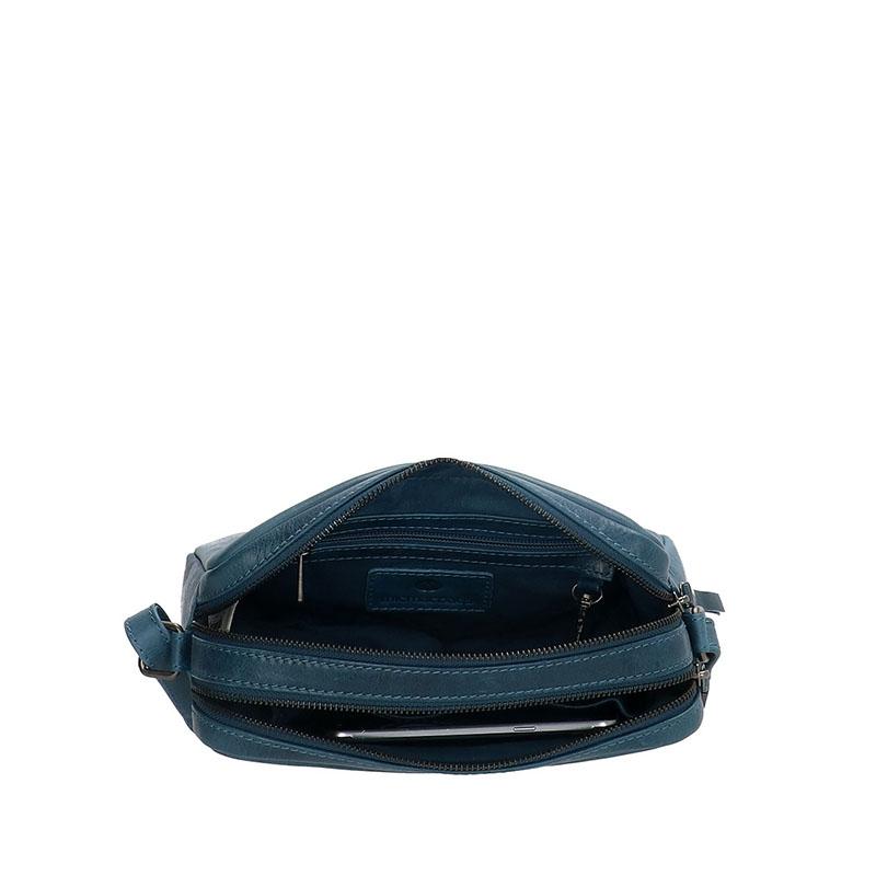 Micmacbags Porto Small Shoulderbag Jeans Blue-180637