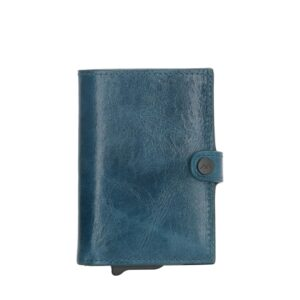 Micmacbags Porto Wallet Jeans Blue