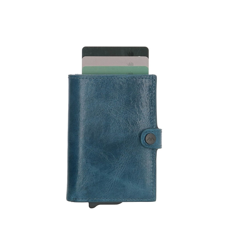 Micmacbags Porto Wallet Jeans Blue-180547