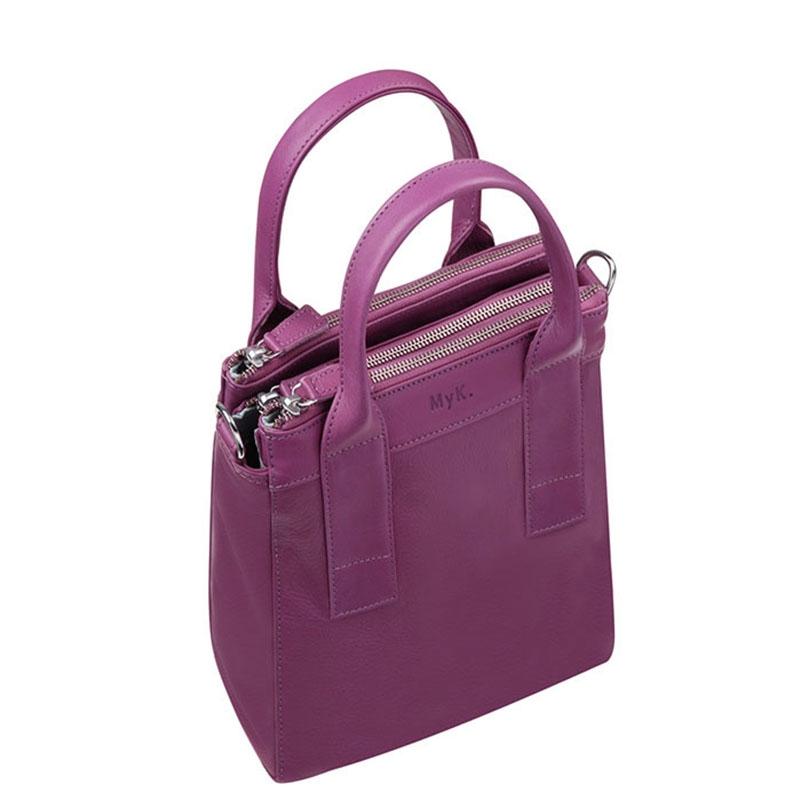 MyK. Ivy Bag Plum-179272