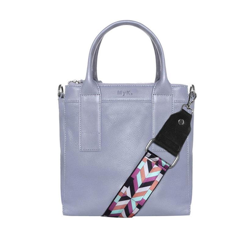 MyK. Ivy Bag Silver Grey-0
