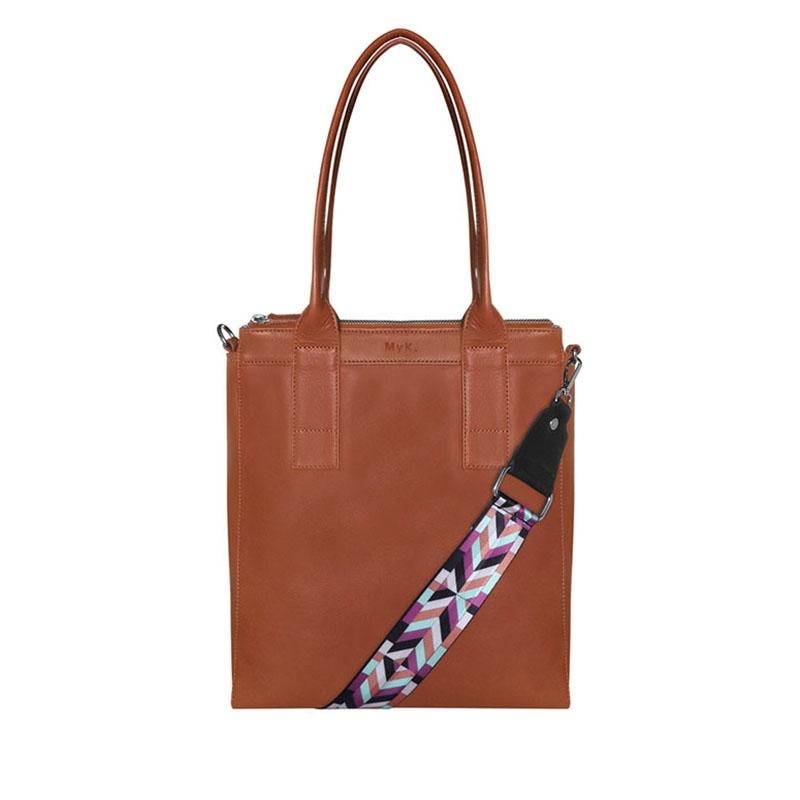 MyK. Lotus Bag Caramel-0
