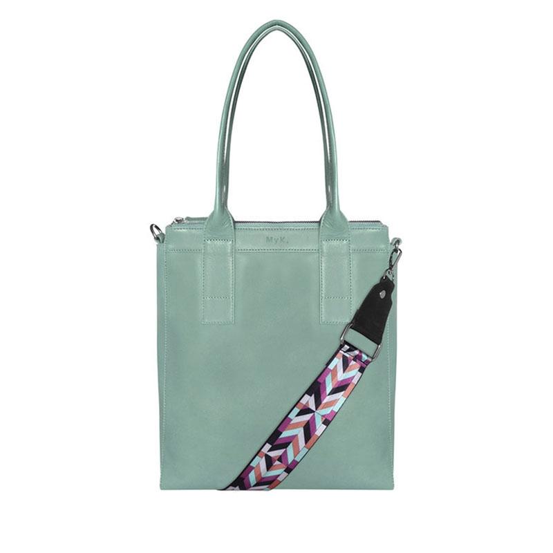 MyK. Lotus Bag Mint-0