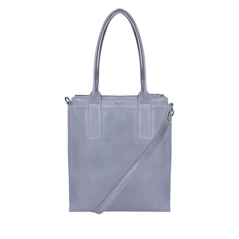MyK. Lotus Bag Silver Grey-179264