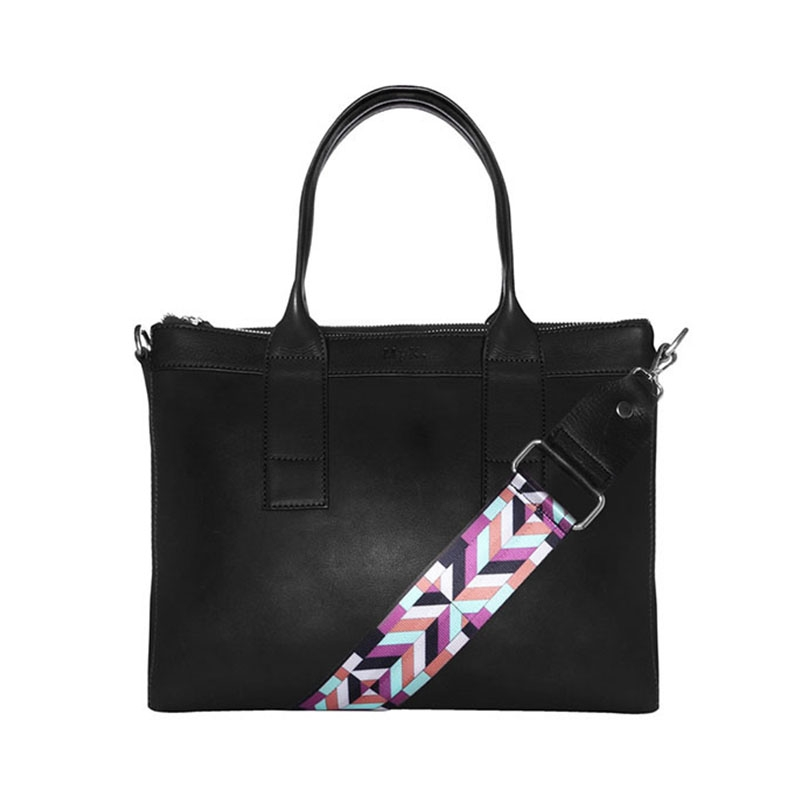 MyK. Orchid Bag Black-0