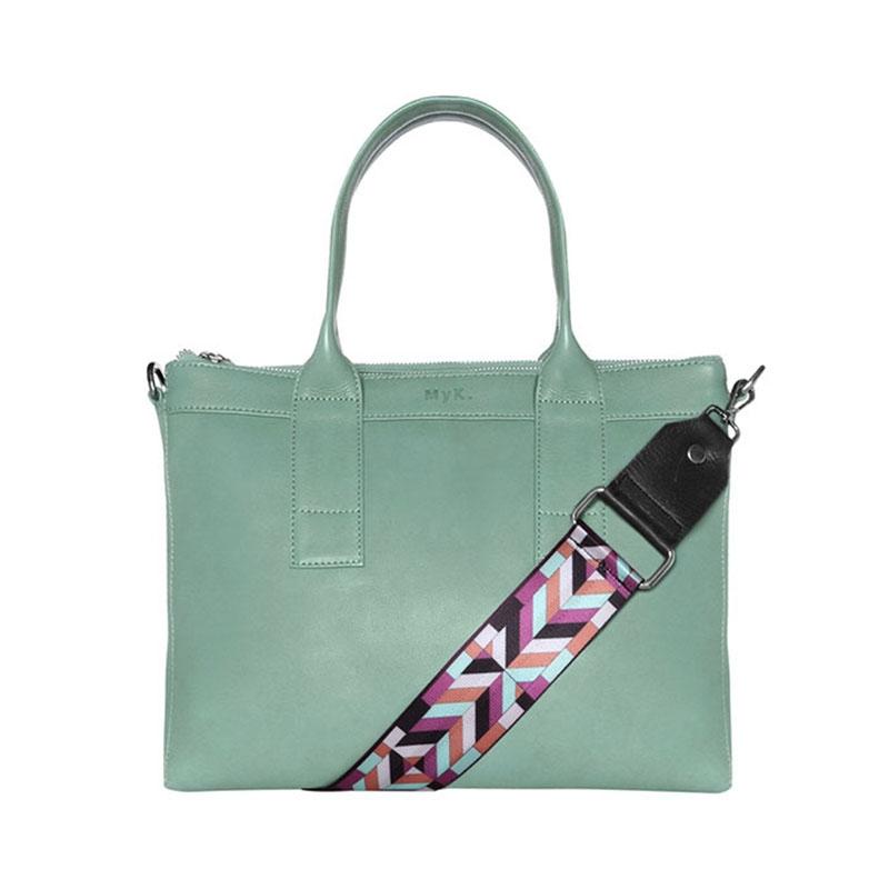 MyK. Orchid Bag Mint-0