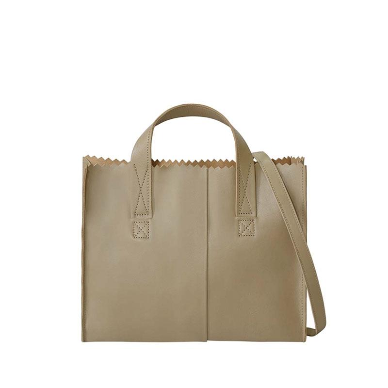 MYOMY My Paper Bag Handbag Cross-body Sand-180948
