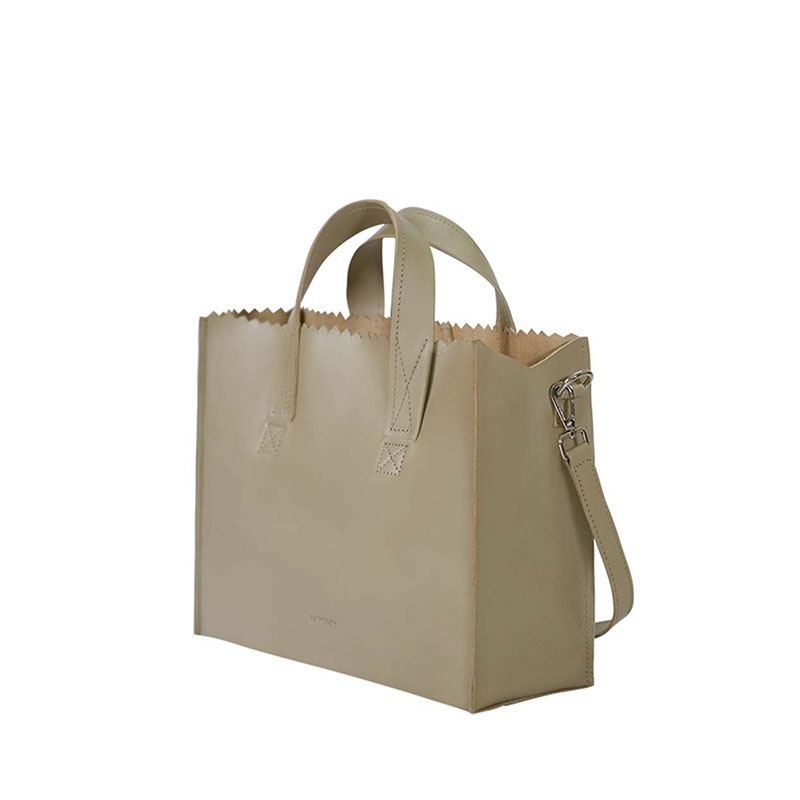 MYOMY My Paper Bag Handbag Cross-body Sand-180949