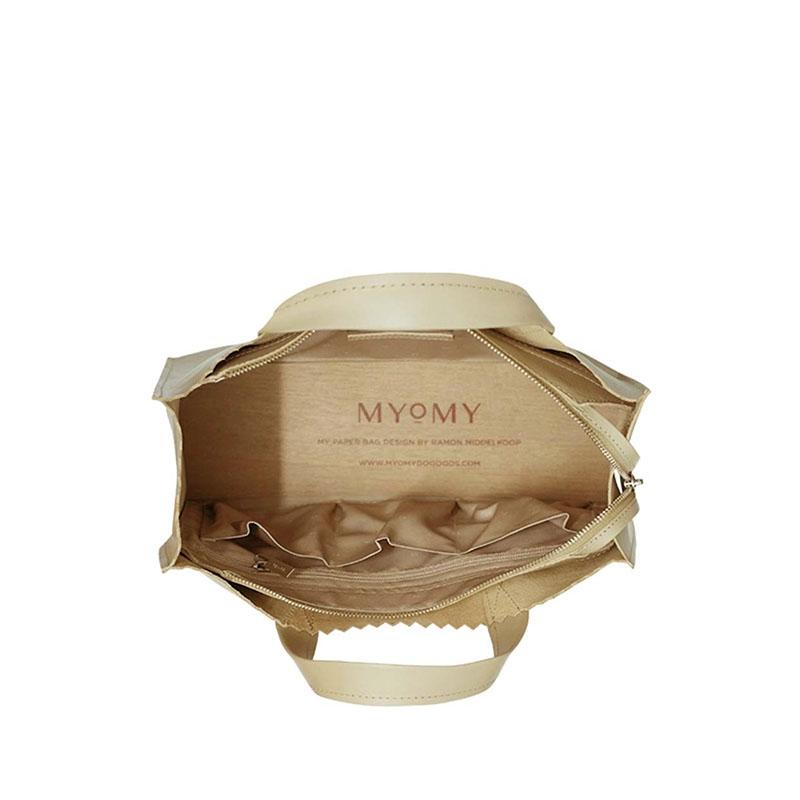 MYOMY My Paper Bag Handbag Cross-body Sand-180950