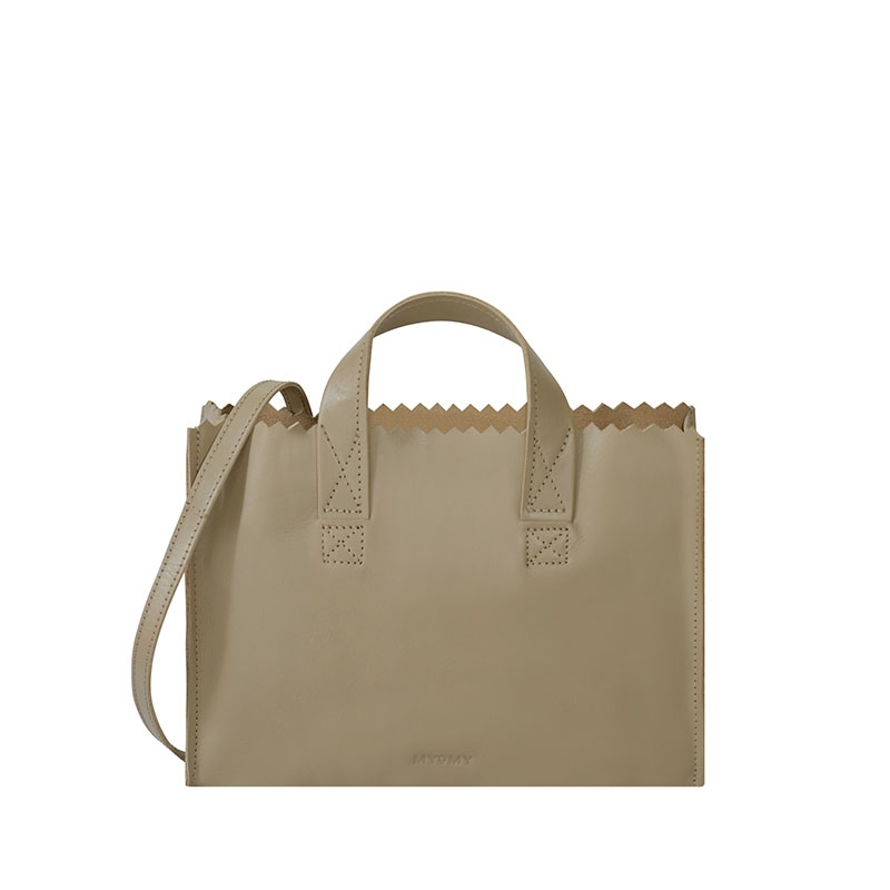 MYOMY My Paper Bag Mini Handbag Cross-body Sand-0