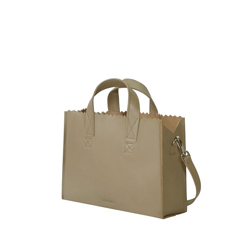 MYOMY My Paper Bag Mini Handbag Cross-body Sand-179532