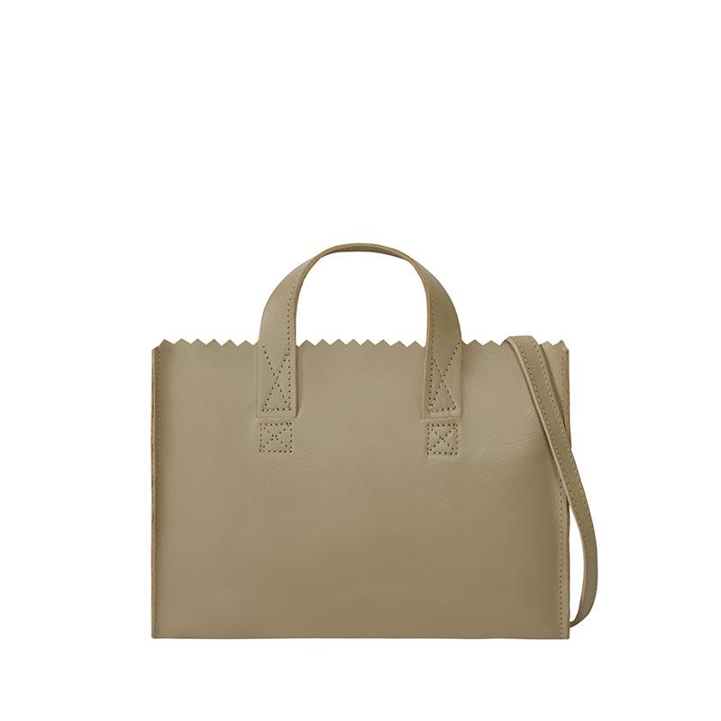 MYOMY My Paper Bag Mini Handbag Cross-body Sand-179533
