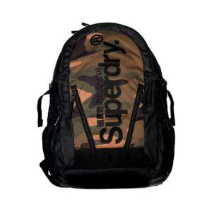 Superdry Desert Tarp Backpack Green Camo-0