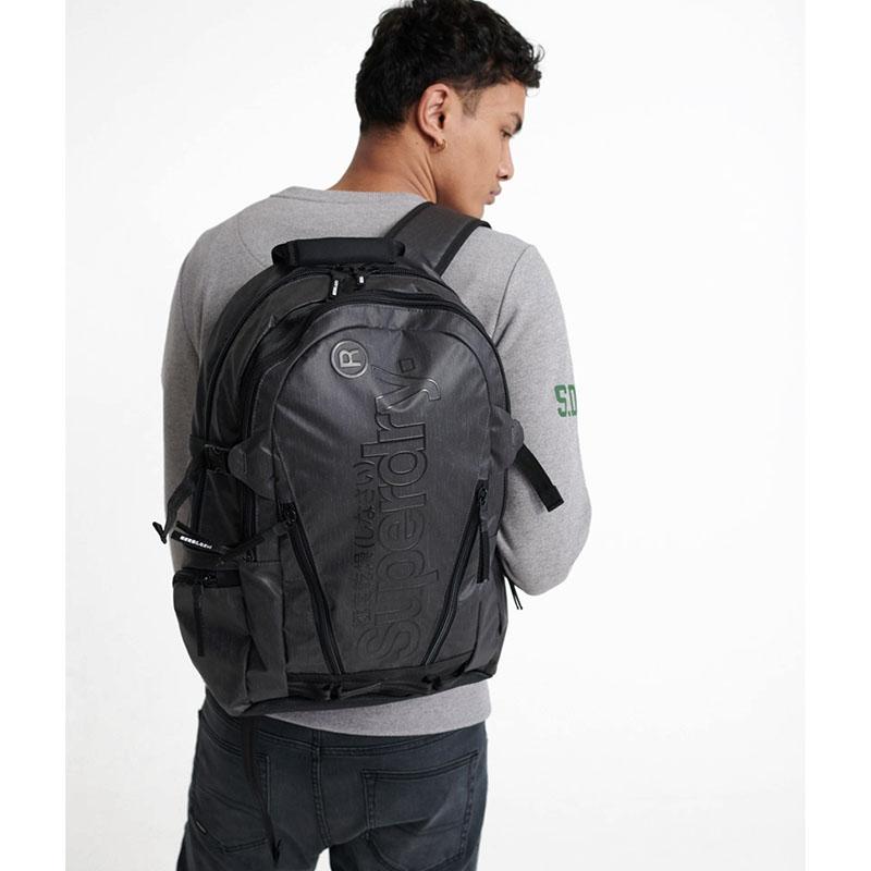 Superdry Desert Tarp Backpack Grey Marl-179915