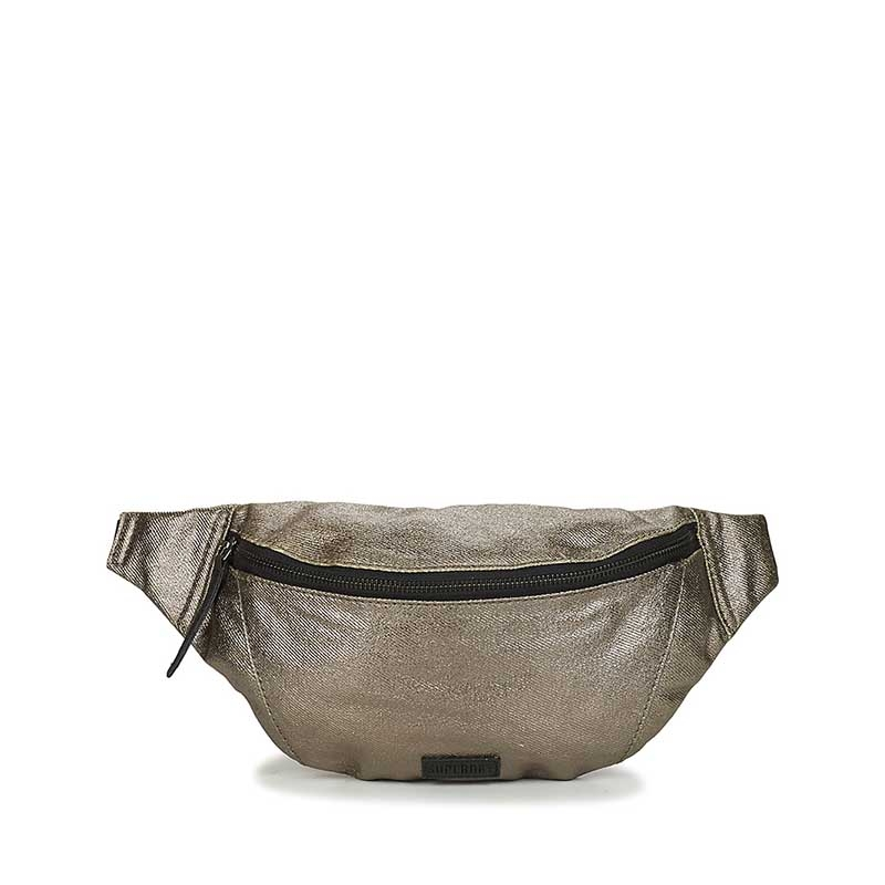 Superdry Metallic Bum Bag Pewter-0