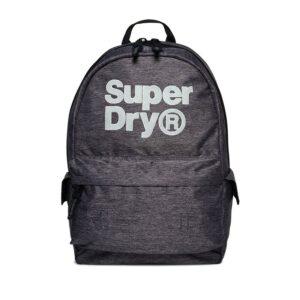 Superdry Montana Backpack Logo Grey-0