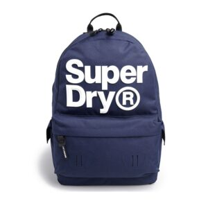 Superdry Montana Backpack Logo Navy